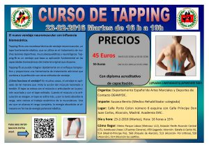 tapping curso 23-2-2016