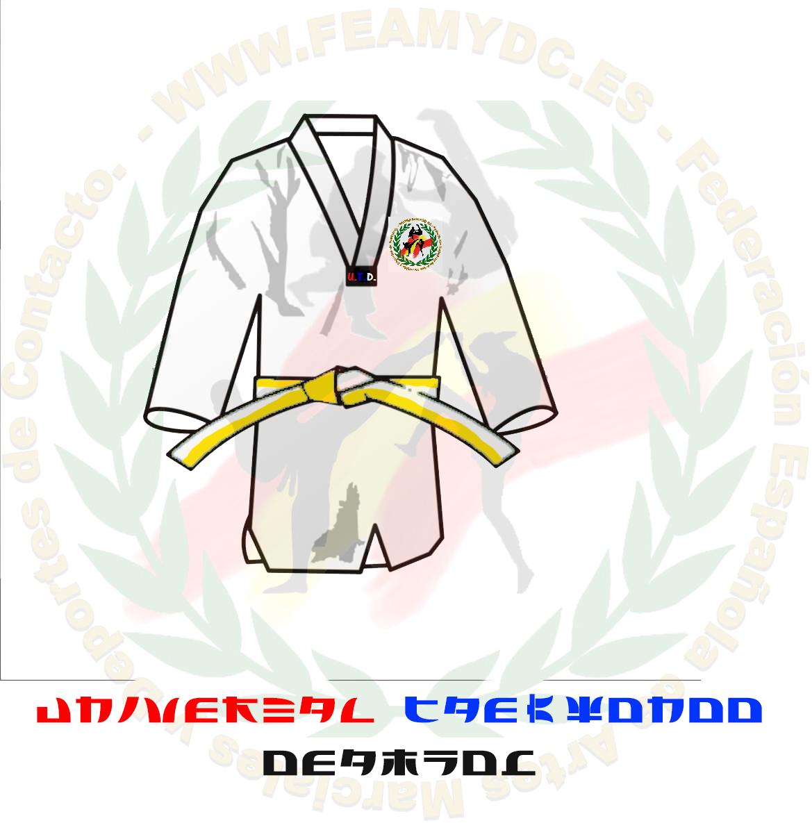 Grados y cinturones Universal Taekwon-do DEAMYDC (U.T.D. ...